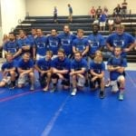 GEHS versus Santa Fe Trail alumni wrestling event a success