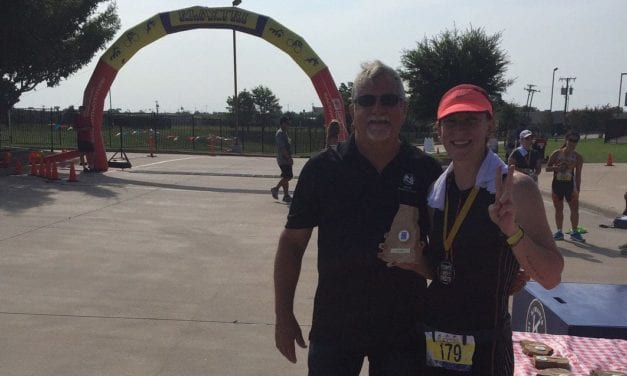 GEHS alumni wins Texas Triathlon