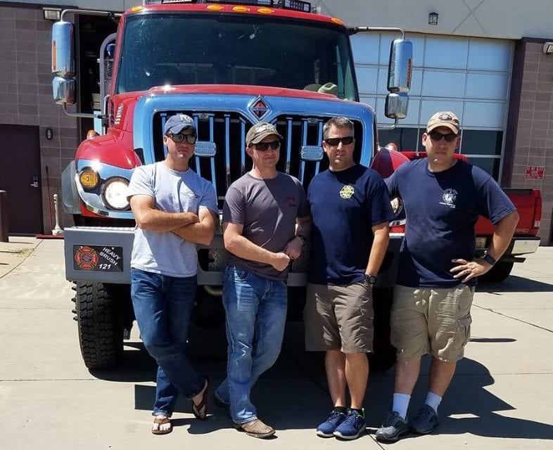 Johnson County Fire District #1 crew travels to Rosenburg, Oregon