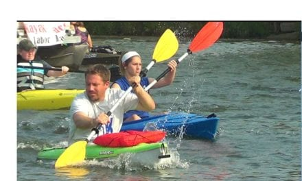 3rd Annual Gardner Lake Rico's Kayak Run
