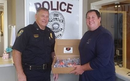 GPD receive donation