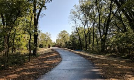 Ribbon cutting for new Coffee Creek Streamway Trail