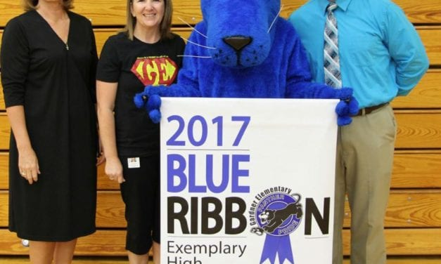 Gardner Elementary selected as a National Blue Ribbon School