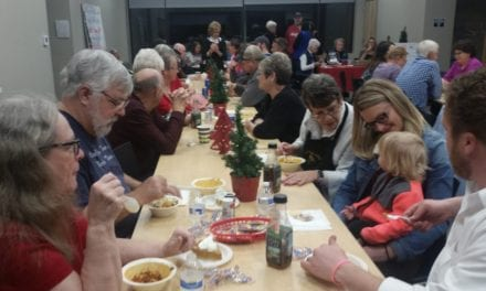 Beta Sigma Phi Christmas Lighting Chili and Soup Dinner