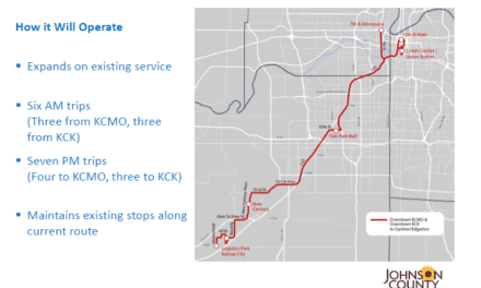 Public transit corridor would connect intermodal, Kansas City