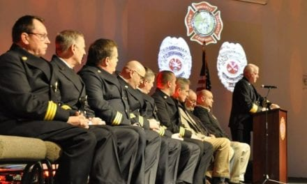 Fire District #1 holds second annual pinning ceremony