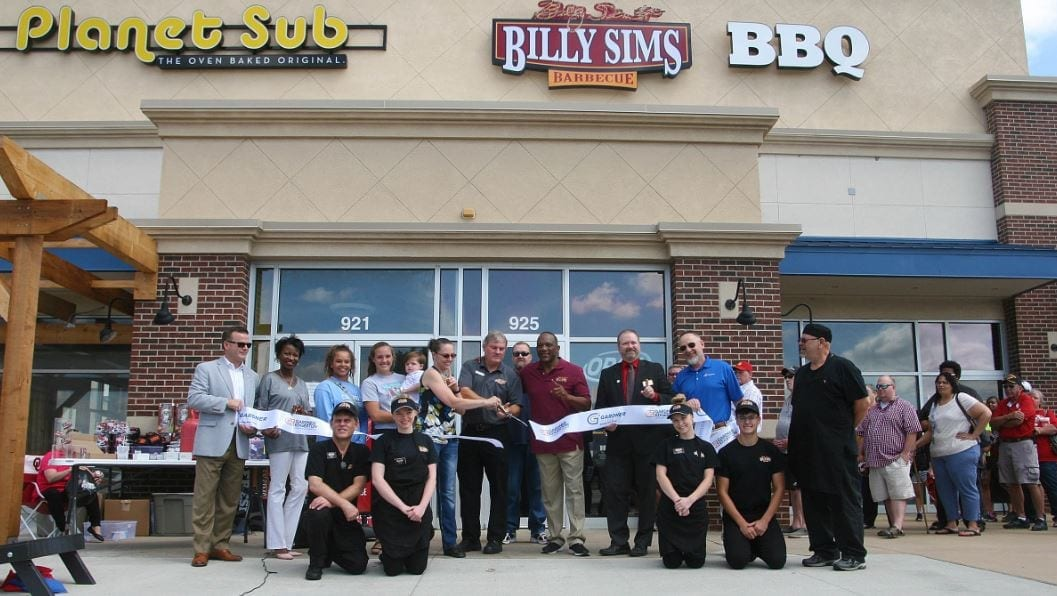 Billy Sims BBQ opens