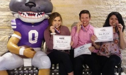 Two GEHS students win Kansas Student Technology Leaders Competition