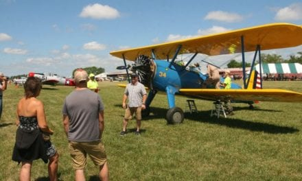 Vintage Aircraft Fly