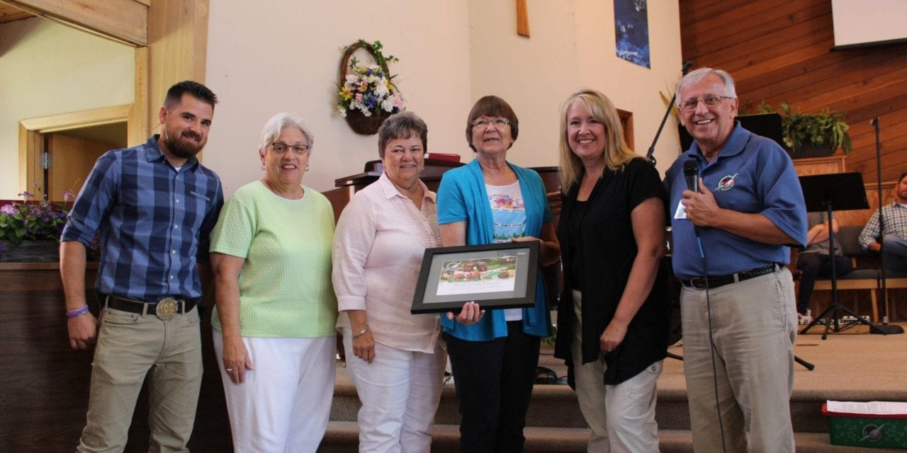 First Baptist Church receives award for 5 years of charity work