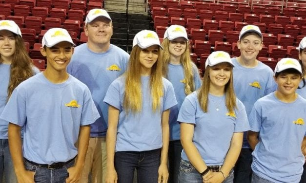 4-H Shooting Club participates at nationals