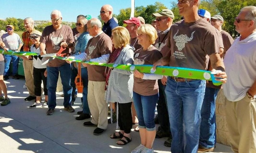 Ribbon cutting held for Big Bull Creek Park
