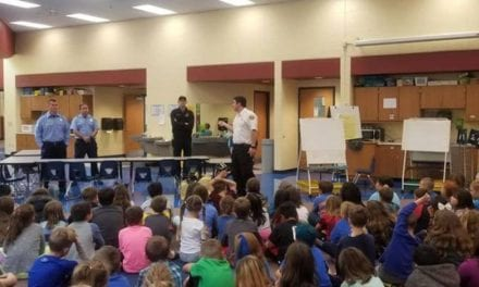 Fire District #1 teaches fire safety