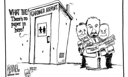 Gardner unable to fix toilet at the city airport but spends $350,000 to buy out the city administrator;s contract