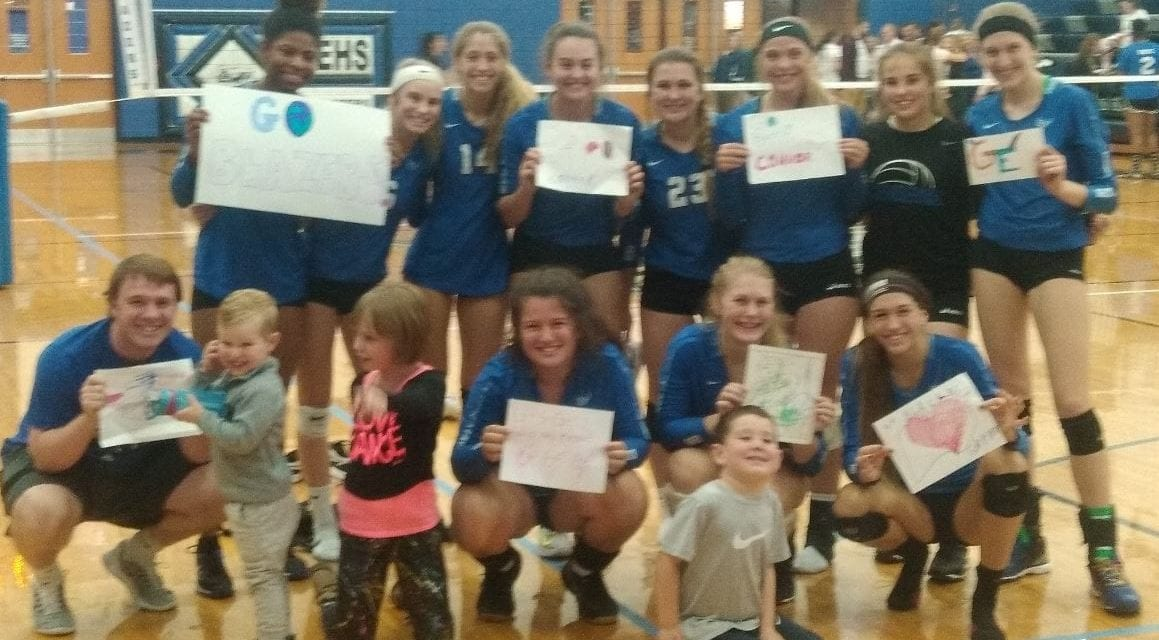 GEHS volleyball team defeats Blue Valley Southwest in just 3 sets