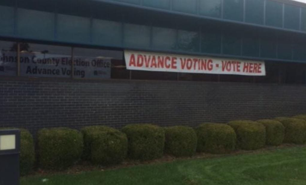 Business appears brisk at poll locations