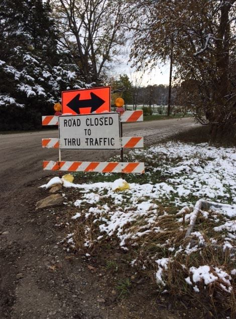 Construction, weather disrupts residents' access