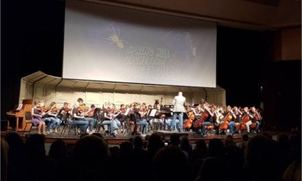 Spring Hill orchestra students donate to American Legion