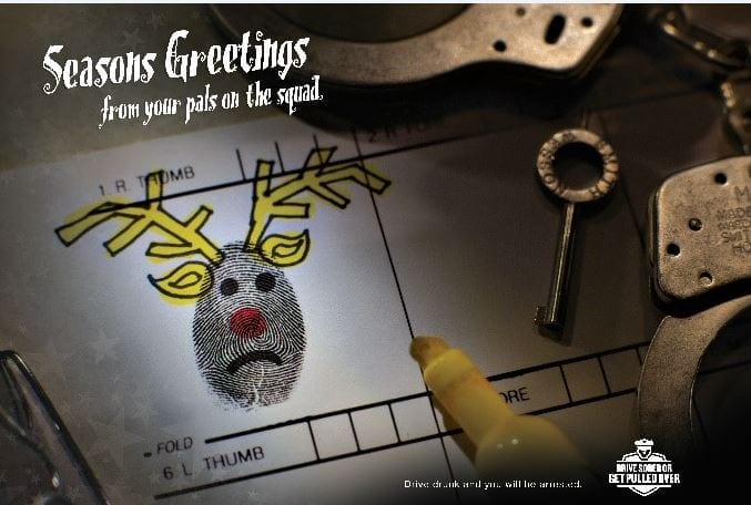 Stay Alive with a sober ride this holiday season