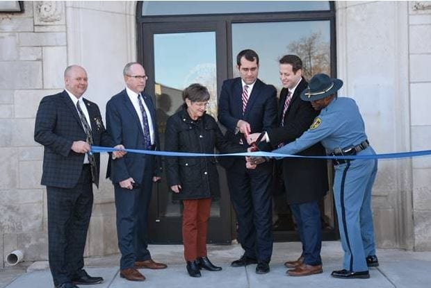 Ribbon cutting held for children task force