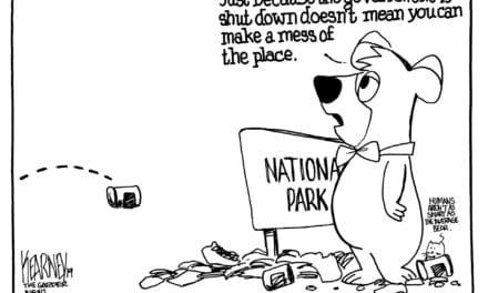 People leaving garbage, feces in national parks in wake of shutdown