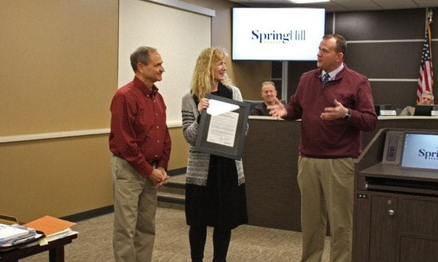Longtime Spring Hill residents honored with proclamation