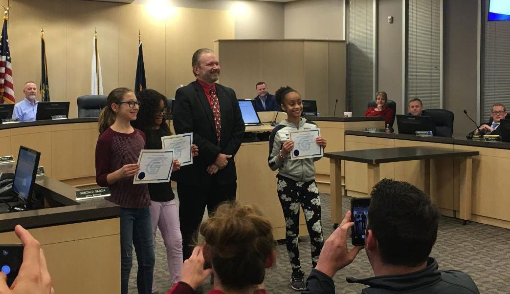 JCPRD students perform for city council