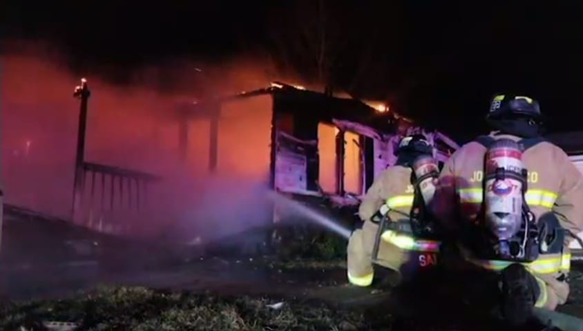Fire District # 1 responds to house fire