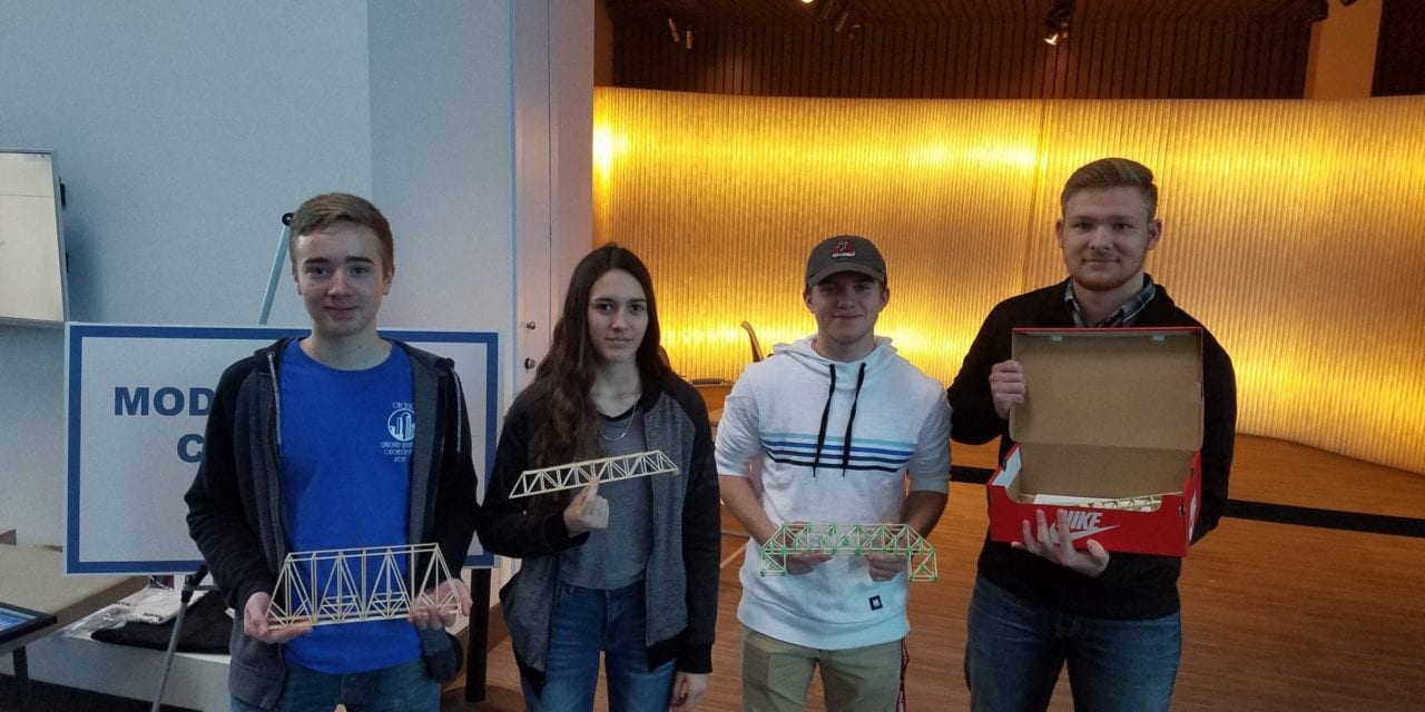 GEHS enters Kansas Society of Professional Engineers Bridge Building Competition