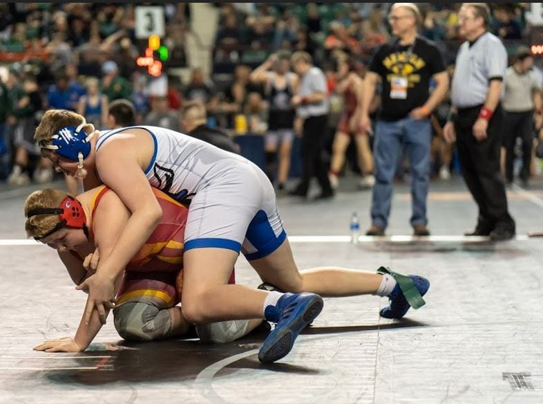 Wrestling club does well at state