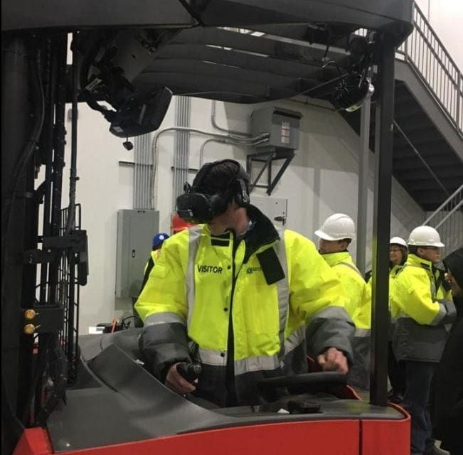 Wellsville students tour Jet, Coldpoint