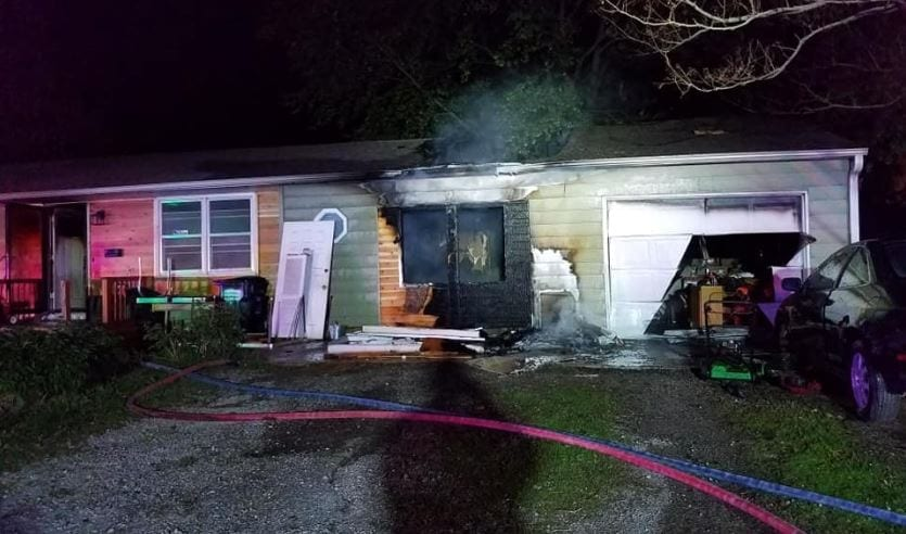 Early morning house fire