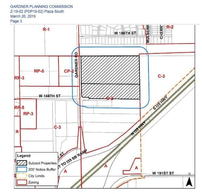 Rezoning approved for 188th, S Gardner Rd.