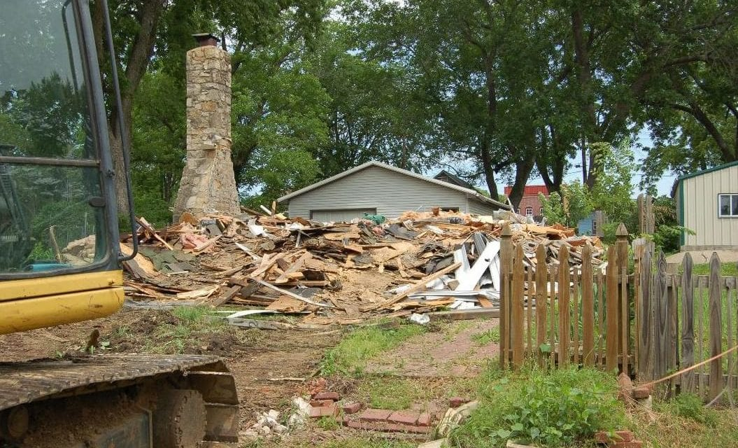 Edgerton spends $9K to demolish buildings