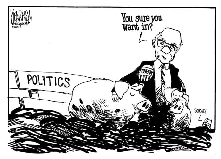 Sen. Pat Roberts to potential successors Politics today are nasty, personal, vicious