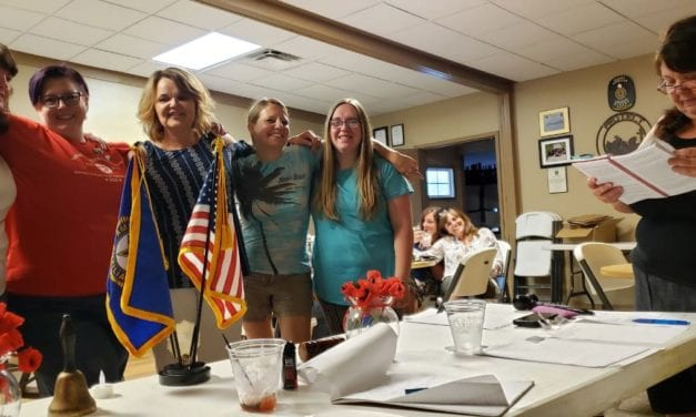 The American Legion Auxiliary Unit 19 makes leadership changes