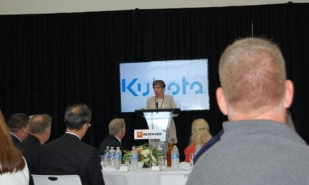 Gov. Kelly attends Kubota grand opening