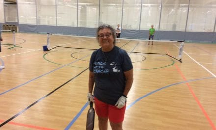Pickleball no match for this 90 year old senior citizen