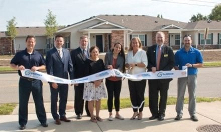 Bethel Estates ribbon cutting