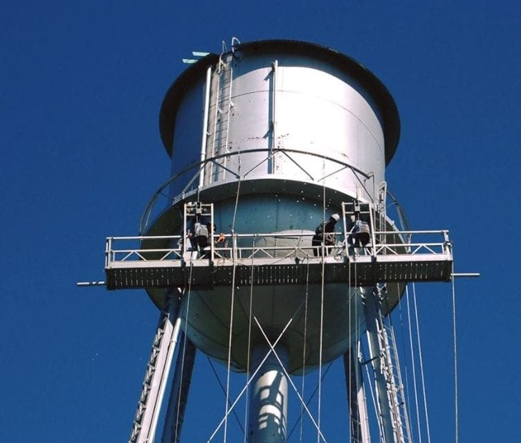 Edgerton water tower gets a makeover