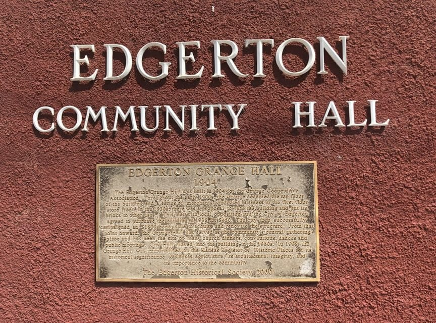 Edgerton announces winners