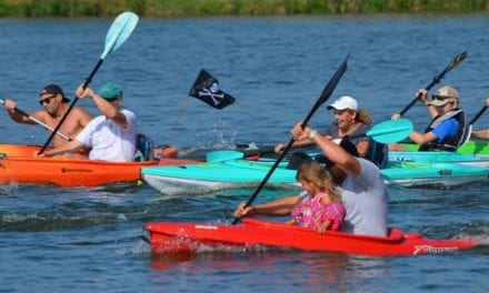 Fourth annual Gardner Lake Labor Day Kayak Run is another success