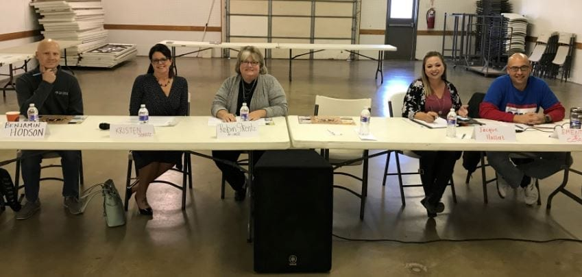 USD 231 candidates provide information at GE chamber forum