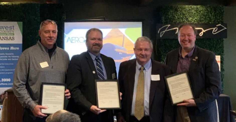 New Century AirCenter receives aviation certification