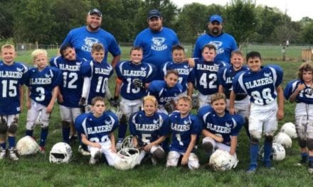 Blazers third grade football team wraps up season