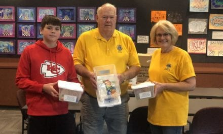 Gardner Lions Club donated 45 diabetic kits to USD 231