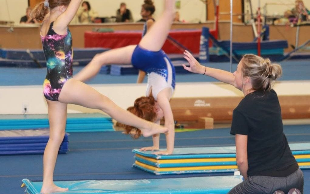 Back handspring clinic announced