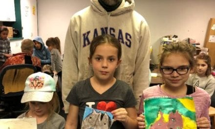 Students find beauty, fun in creating art
