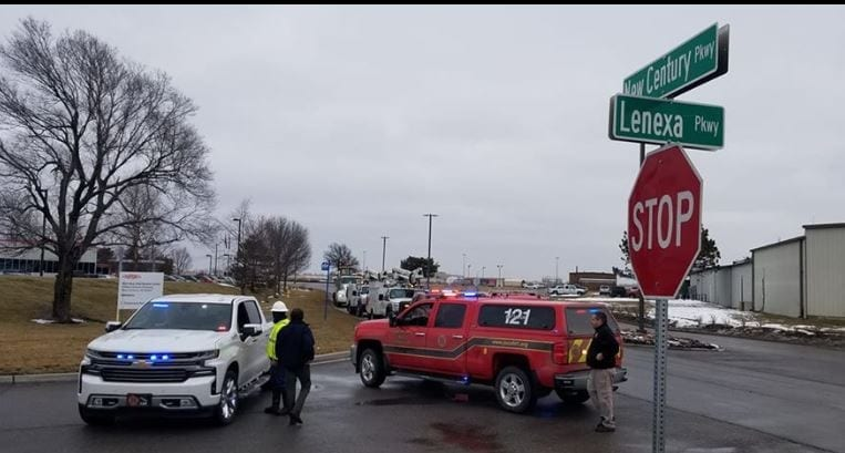 Natural gas leak detected at NewCentury