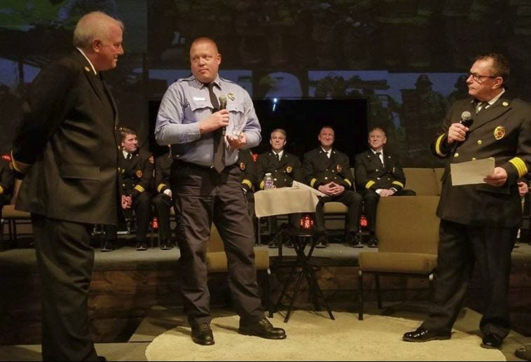 Fire District #1 recognized
